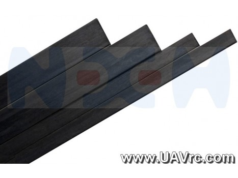 Carbon Fiber Flat Bar 6.0 x 0.8 x 1000mm